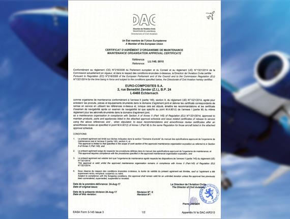 Neue Zertifizierung erweitert Leistungsportfolio | EURO-COMPOSITES